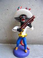 オクミチョ 陶器人形  [ディアブロ カサドール]民芸品