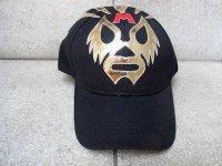 ルチャリブレ マスクマン キャップ 帽子 [マスカラス] ブラックorネイビー