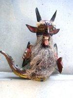 ゲレーロ 木彫り人形 [悪魔仙人 ディアブロ] 民芸品