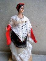 メキシコ 人形  民芸品 [ベラクルサナ] ビンテージ