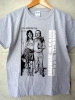 ブコウスキー Tシャツ [オールド・パンク] グレー