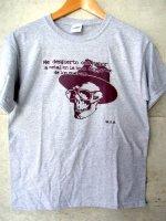 バロウズ Tシャツ [裸のランチ] グレー
