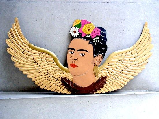 フリーダ カーロ [オハラタ オーナメント] ブリキ 壁飾り