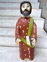 オアハカ 木彫人形 [サン・ホセ 聖ヨゼフ] ウッドカーヴィング