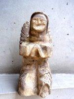 ウッドカービング 木彫り人形  [天使] オアハカ ヴィンテージ