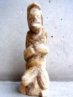 ウッドカービング 木彫り人形  [異国人] オアハカ ヴィンテージ