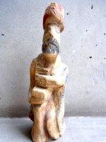 ウッドカービング 木彫り人形  [宣教師] オアハカ ヴィンテージ