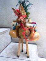 メキシコ フォークアート 聖体の日[ムーラ] 民芸品