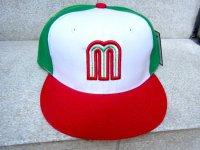 メキシコ WBC ベースボールキャップ [トリコロール