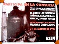 サパティスタ EZLN ポスター アート [1999年3月21日]