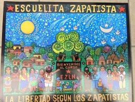 サパティスタ EZLN ポスター アート [サパティスタの小さな学校]