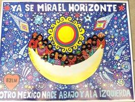 サパティスタ EZLN ポスター アート [地平線]
