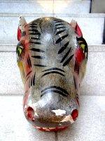 ウッドマスク 木製の仮面 民芸品 [ウマ ミチョアカン]