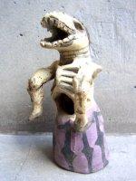 アギラールファミリー  陶人形  [馬になったカラベリータ]  ビンテージ