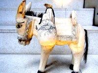 ゲレーロ 木彫り人形 民芸品 [ロバ]  ビンテージ