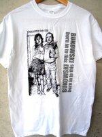 ブコウスキー Tシャツ [オールド・パンク ] ホワイト