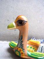 メキシコ 陶器 民芸品 [水鳥 灰皿] スーベニール