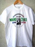 マヌチャオ Tシャツ [ホワイト] manu chao