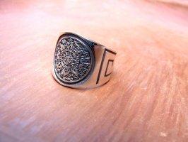 リング 指輪  [アステカ カレンダー] シルバー