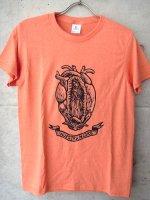 グアダルーペ コラソン Tシャツ  [オレンジ Lサイズ ]