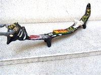 ゲレーロ  枝人形 民芸品 [ウシ ブラック]  郷土玩具