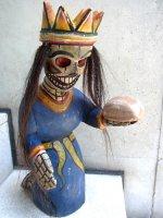ゲレーロ 木彫人形 [カラベラ 賢人] ビンテージ