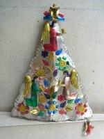 ブリキ オーナメント[ビンテージ クリスマスツリー] インテリア
