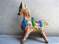 ゲレーロ 陶器 フォークアート [ロバ  マルチカラー ] ビンテージ