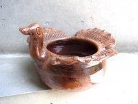 オアハカ 陶器   [アツォンパ  ガジョ ポット] 民芸品