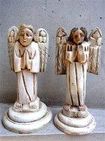 ミチョアカン 木彫り人形  [アンヘル 天使]  フォークアート