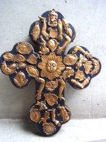 ミラグロ ウッドクロス 十字架 [ソルナ ブラック]