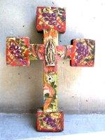 アートクロス 十字架  [グレープ グアダルーペ] 23cm
