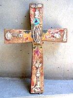 アートクロス 十字架  [ミラグロ グアダルーペ] 23cm
