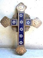 クロス 十字架 オハラタ [タイル ブロンズカラー] 28cm