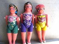 メキシコ  ルピータ フダス  [ミドルサイズ ] 張り子人形