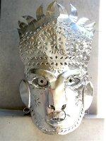 ゲレーロ サンミゲル ブリキマスク [王様 仮面 ] フォークアート