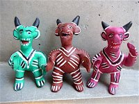 オクミチョ 人形  [ポジート ホイッスル ディアブロ]民芸品