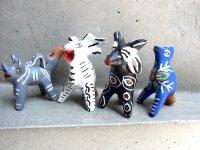 オクミチョ 人形  [ポジート ホイッスル 動物たち]民芸品
