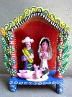オクミチョ 陶人形  [ナシミエント 誕生] フォークアート
