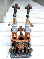 メテペック 陶芸  民芸品 [イグレシア 教会]  デッドストック