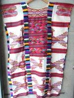 オアハカ 刺繍 ワンピース  [パパロアパン クジャク ] ゲラゲッツァ
