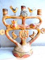 ツリーオブライフ 生命の樹  [フランシスコ・フローレス バーズ&フラワー] ビンテージ
