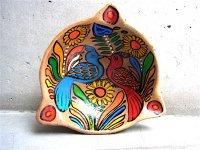 ゲレーロ 陶皿 アメヤルテペク  [ハチドリ] ビンテージ