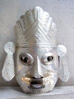 ゲレーロ ブリキマスク [王様 仮面 ] ビンテージ