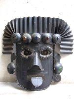 ゲレーロ ブリキマスク [王様 仮面 ブラック ] ビンテージ