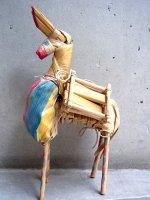 メキシコ もろこし人形 聖体の日[ムーラその2] 民芸品
