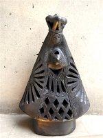 オアハカ 黒陶 バロネグロ  [聖人 ラ・ソレダー] フォークアート