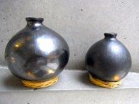 オアハカ 黒陶 バロネグロ  [壺 花瓶 ] ポータリー