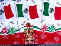 メキシコ独立記念日 ファブリック 生地 [フラッグ 国旗] リメイク