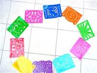 ビニールピカド 切り絵の旗 [ 10カラー] ガーランド